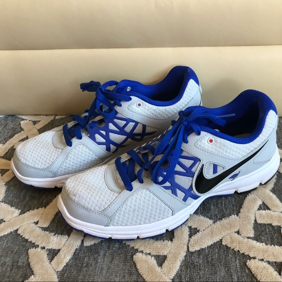 best cheap f7833 32a64 MENS  NIKE RELENTLESS 2 GRAY AND BLUE SNEAKERS. M 5b51d6fa3e0caafa8ef92268
